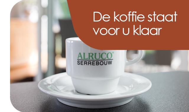 Bij Alruco staat de koffie voor u klaar