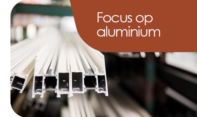 focus op aluminium