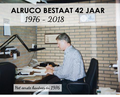 Alruco bestaat 42 jaar, van 1976 tot 2018