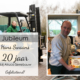 Hans 20 jarig jubileum bij Alruco Serrebouw