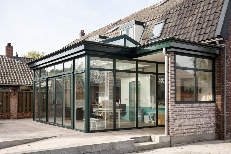 Tuinkamer in Hooge Mierde compleet inclusief bouwkundige werkzaamheden door Alruco gerealiseerd.