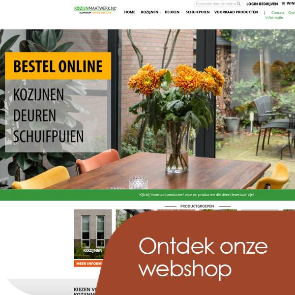 bezoek onze webshop kozijnmaatwerk.nl