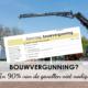 bouwvergunning nodig serre aanbouw