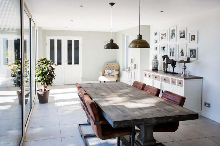 lounge ruimte in je aanbouw van Alruco Serrebouw00007